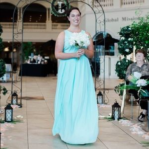 Mint Dress, Wedding, Bridesmaid